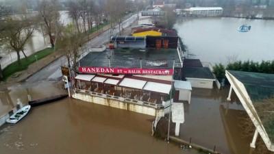 Edirne'de 'kabus' havadan görüntülendi