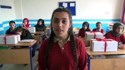 Öğrenciler, Mehmetçik'e 2023 mektup gönderdi - BİTLİS