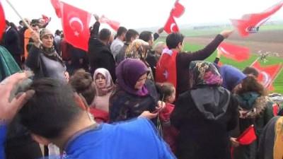 Abusultan Baggara aşiretinden Mehmetçiğe destek konvoyu