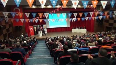 AK Parti Amasya Danışma Kurulu Toplantısı - AK Parti Grup Başkanvekili Bostancı - AMASYA
