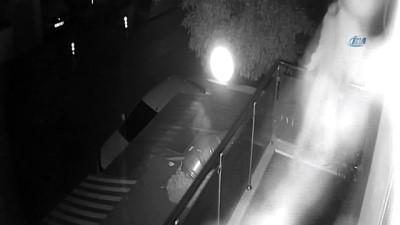 Silahlı hırsız kameraya yakalandı