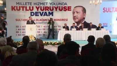 AK Parti Sultangazi 4. Olağan Kongresi - Bakanı Albayrak - İSTANBUL