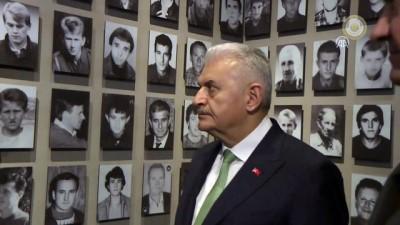 Başbakan Yıldırım, Srebrenitsa Anma Müzesi'ni ziyaret etti - SARAYBOSNA