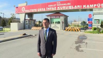 CHP Grup Başkan Vekili Özel, Berberoğlu'nu ziyaret etti - İSTANBUL
