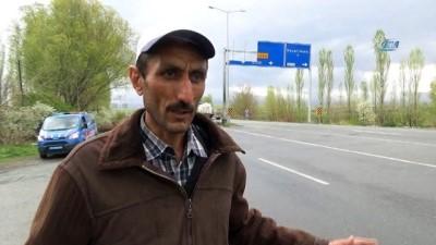 Iğdır'da 17 kişinin öldüğü trafik kazası güvenlik kamerasında