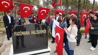 Öğrenciler şehit Halisdemir'in annesini unutmadı - NİĞDE