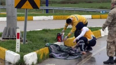 Tokat'ta otomobil şarampole uçtu: 2 ölü