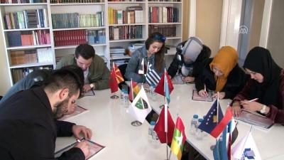 Yabancı öğrencilerin mektupları Mehmetçik'e ulaştı - EDİRNE