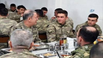 Genelkurmay Başkanı Akar, Tugay Komutanlığında incelemede bulundu
