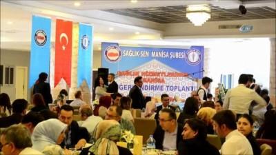 Sağlık-Sen Genel Başkanı Memiş Turgutlu'da