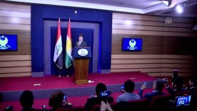 Mesut Barzani'den 'bütçe' açıklaması - ERBİL