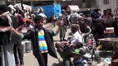Yemen'de mutfak tüpü protestosu - SANA