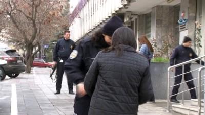 ABD Büyükelçiliği önünde güvenlik önlemleri en üst düzeye çıkartıldı