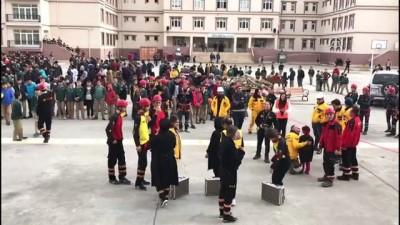'Beklenen İstanbul Depreminde Gönüllü Ekiplerin Rolü' tatbikatı - İSTANBUL