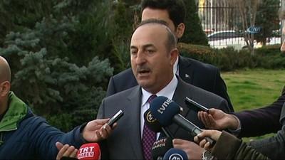 Dışişleri Bakanı Çavuşoğlu, 'Salih Müslim nereye giderse gitsin peşini bırakmayacağız'