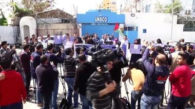 Filistinli gazetecilerden, 'Facebook engeline' tepki - GAZZE