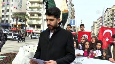 Öğrencilerden Zeytin Dalı Harekatı'na destek - DENİZLİ