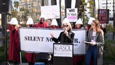 - Oscar Ödül Töreni Öncesi Protesto