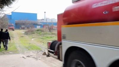 TMSF'ye devredilen plastik ambalaj fabrikasında yangın