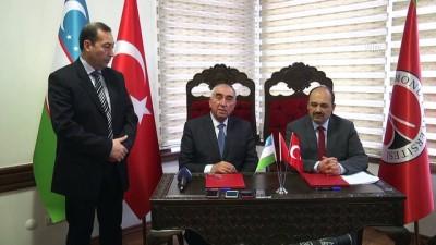 Türkiye-Özbekistan ortak tarih ve müfredat çalışmaları için protokol - KASTAMONU
