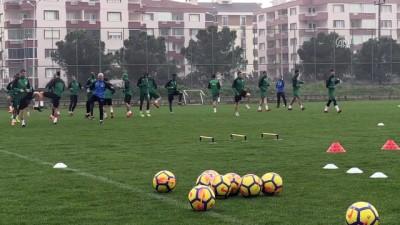 Bursaspor'da Osmanlıspor maçı hazırlıkları - BURSA