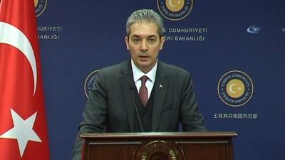 Dışişleri Sözcüsü Aksoy: 'Pentagon Sözcüsü saçmalamış'