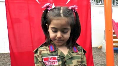 Minikler cephedeki babaları için kamera karşına geçti (2) - DENİZLİ