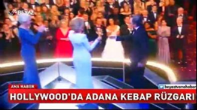 Oscar mutfağında Adana Kebap...