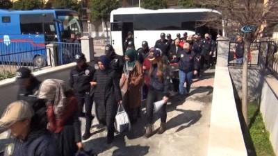 Yeniden yapılanma sürecindeki FETÖ zanlılarından 43'ü tutuklandı