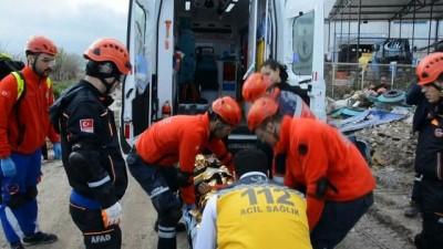 deprem -  Yunusemre Belediyesi'nde gerçeği aratmayan tatbikat