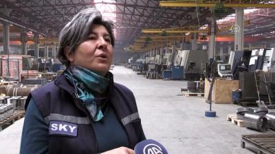 Ağır sanayinin ihracatçı kadını - KONYA