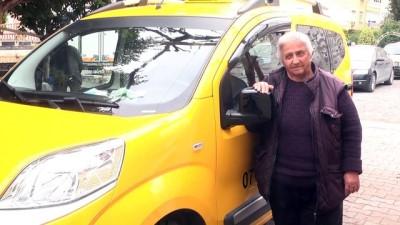 Antalya'nın taksici 'Fatma abla'sı