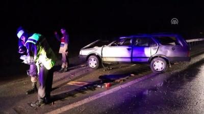 Çankırı'da trafik kazası: 1 ölü