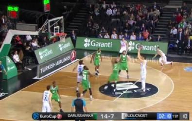 Darüşşafaka - Buducnost Voli: 57- 54 Basketbol Maç Özeti