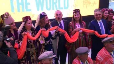 Dışişleri Bakanı Çavuşoğlu, turizm fuarında Türk stantlarını gezdi (2) - BERLİN