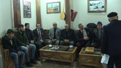 Erzurumlu gazi ve şehit yakınları, Zeytin Dalı Harekatı'na destek olmak için bölgeye gitti - ERZURUM