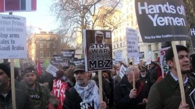 İngiltere'de Suudi Arabistan Veliaht Prensi Bin Selman'a tepki - LONDRA