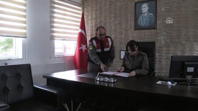 Jandarmanın göz bebeği Refika Teğmen - BALIKESİR