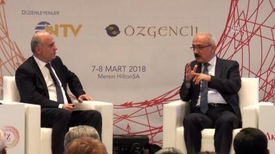 Kalkınma Bakanı Elvan soruları yanıtladı - MERSİN