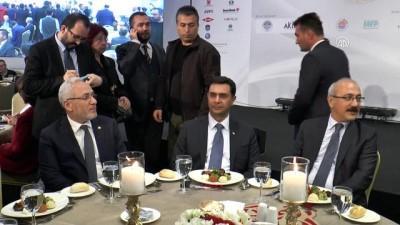 Kalkınma Bakanı Lütfi Elvan - Akdeniz Ekonomi Forumu - MERSİN