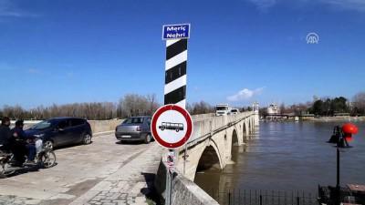 Meriç Nehri'nin debisi yükseliyor - EDİRNE