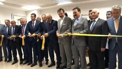 TOBB Başkanı Hisarcıklıoğlu, VANTB'da laboratuvar açılışını gerçekleştirdi