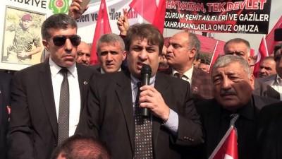 Türkiye Harp Malulü Gaziler, Şehit Dul ve Yetimleri Derneği'nden Zeytin Dalı Harekatı'na destek - HATAY