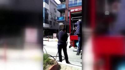 Üsküdar'da yangın - İSTANBUL
