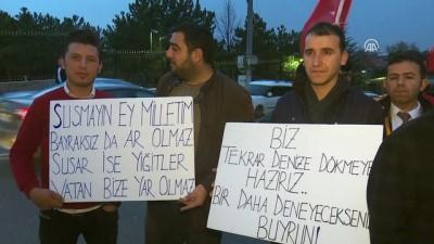 Yunanistan Büyükelçiliği önünde protesto - ANKARA