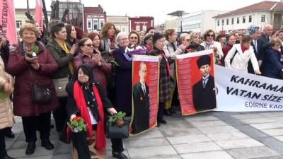8 Mart Dünya Kadınlar Günü, Edirne'de çeşitli etkinliklerle kutlandı