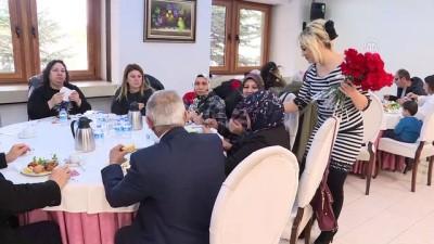 8 Mart Dünya Kadınlar Günü - Türkiye Gaziler ve Şehit Aileleri Vakfı Başkanı Aylar -ANKARA