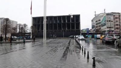 AKM'deki yıkım çalışmaları - İSTANBUL