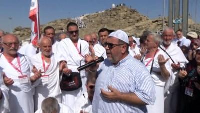 - Arafat'ta Afrin kahramanlarına dua - Bursalı umreciler, Arafat'ta Cebeli Rahme Dağı'nda Afrin operasyonunda destan yazan Mehmetçikler için dua ettiler