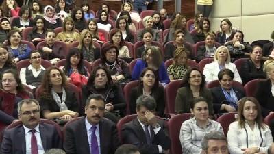 Bakan Tüfenkci: 'Ülkemizde 267 bin 586 kayıtlı kadın esnafımız bulunuyor' - ANKARA